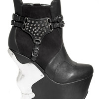 Hades 'Stallion' Wedge Heels