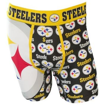 Pittsburgh Steelers Cityscape Boxer Brief II