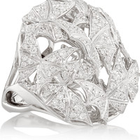 Stephen Webster - Fly By Night 18-karat white gold diamond ring