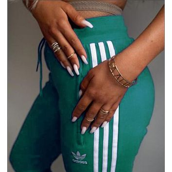 ADIDAS men and women trendy fashion trousers F