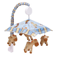 Trend Lab Baby Bedding Cowboy Baby Musical Mobile Play Toy