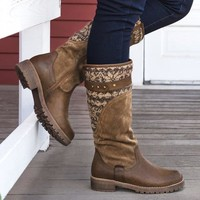New Women Kelsey Boots Zipper Knitted Fabric Boots