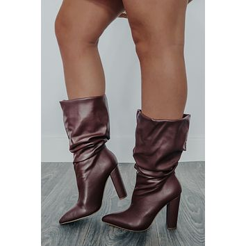 Hot Topic Boots: Brown