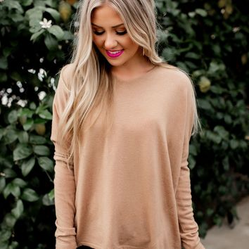 Another Day Sweater (Camel)