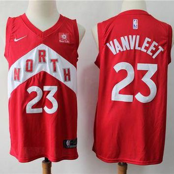 Toronto Raptors 23 Fred VanVleet Reward Version Swingman Jersey DCCK