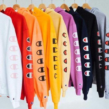 Champion Long Sleeve Top Pullover Sweater Hoodies Tagre™