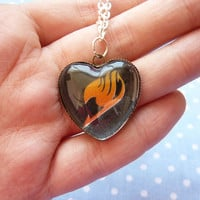 Fairy tail heart necklace