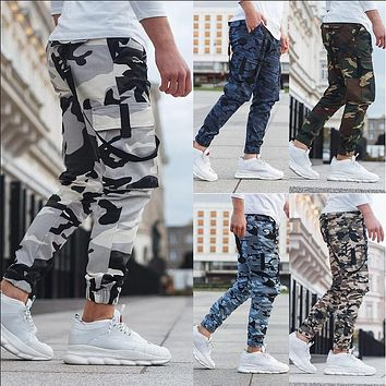 Men's Camouflage Printed Casual Pants