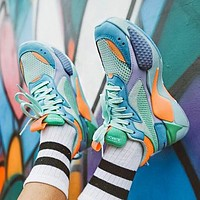 Bunchsun PUMA RS-X Reinvention Fashionable Women Men Casual Couple Sport Running Shoes Sneakers