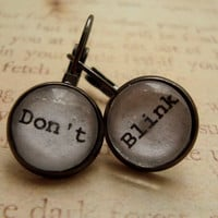 Doctor Who Earrings free shipping