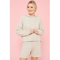 RD Style Hooded Knit Sweater