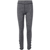 Stretchy Side Cross Cut Out Leggings