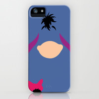 Winnie the Pooh - Eeyore iPhone & iPod Case by TracingHorses