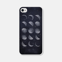 iPhone 5c Case - Moon Phase iPhone 6 Case - iPhone Case - Moon iPhone 5 Case - iPhone 6 Plus Case Moon Phase iPhone Case Moon iPhone 5 Case