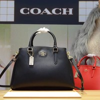 COACH WOMEN'S LEATHER HANDBAG SHOULDER BAG