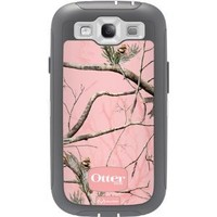 Otterbox Defender Realtree AP Pink Camo Case & Holster Cover Case for Samsung Galaxy S III S3 fits Sprint L710, Verizon i535, AT&T Wireless i747, T-Mobile T999, U.S. Cellular R530