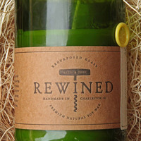 Rewined - Signature Pinot Grigio - Repurposed Wine Bottle - 11 oz Soy Wax Candle