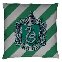 "Harry Potter ""SLYTHERIN "" 16x16 or 18x18 Throw Pillow"