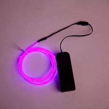 5ft El Wire Kit w/ 3-Mode Battery Pack