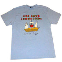 Love Police - Nick Cave and The Bad Seeds : Sail Your Ships Sketch - Sky Blue Tee Store