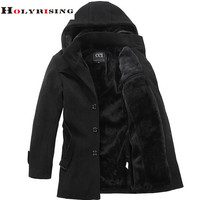 Men's Winter Thick Fashion Outerwear Trench Coat Jacket