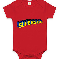 Funny SuperSon Baby Clothes Infant Bodysuit Toddler Tee Youth Soft Gift Present Superman Superbaby Parody present Movie Film Fathers Day Set