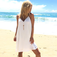 Find Your Path Shift Dress in Ivory