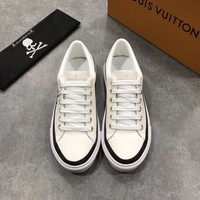 LV  Man popular Casual Shoes Men popular Boots popularable Casual leather Breathable Sneakers Running Shoes Sneakers