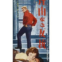 Rebel Without a Cause, Japanese Movie Poster, 1955 Art Print at Art.com