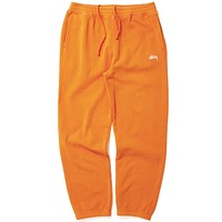 Stock Fleece Pant Orange