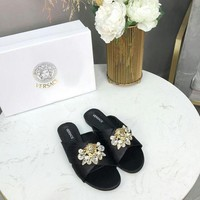 DCCK Versace Women Fashion Casual sandals Slipper Shoes