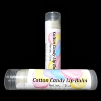 Cotton Candy Lip Balm, Natural Lip Balm, Flavored Lip Balm, Gift under 5