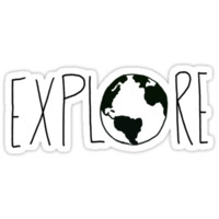 Explore the Globe III by Leah Flores