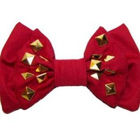 Red and Studs- Men's Bowtie