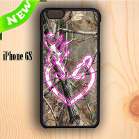 Dream colorful Love Browning Deer Camo iPhone 6S Case