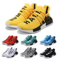 Originals NMD Human Race Runner Boost Pharrell Runners Trainers NMD Boost Running Shoes Human race Williams Pharrell X yellow red eur 36-45