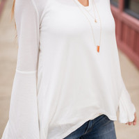 Close To My Heart Blouse, Ivory