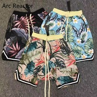 Hottest Fear Of God Shorts Men Women A Limited The 1987 Collection FOG Flower trousers Beach Mesh Shorts Fear Of God hip Shorts