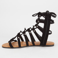 BAMBOO Ghillie Womens Gladiator Sandals | Sandals