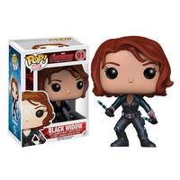 Black Widow Avengers Age Of Ultron Pop Vinyl Figure Bobble Head