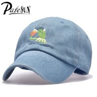 Trendy Winter Jacket Frog Tea Snapback None Of My business Dad Hat Lerbon James casquette kenye Big Daddy hat Men Women Girl's Baseball cap AT_92_12