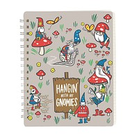 """Hangin' With My Gnomies Spiral Notebook 