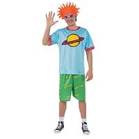 Rugrats Chuckie Top Adult Med