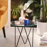 Anderson Glass Side Table | Urban Outfitters