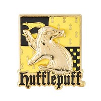 Universal Studios Harry Potter Hufflepuff Crest Raised Pin on Pin New with Card