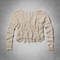 Zoe Crochet Sweater