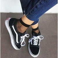 Vans Classics Old Skool Sport Running Sneaker Shoes