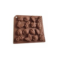 X-Haibei Spring Insect Bugs Chocolate Jello Fondant Crayon Mold Silicone Baby Soap