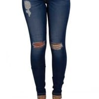 Gliks - Flying Monkey Jeans Distressed Skinny