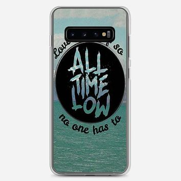 All Time Low Collage Samsung Galaxy S10 Case